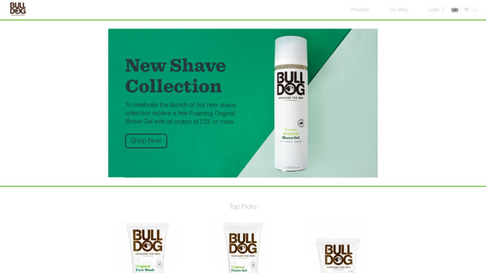 BULL-DOG The best beauty websites you can find online (29 Examples)