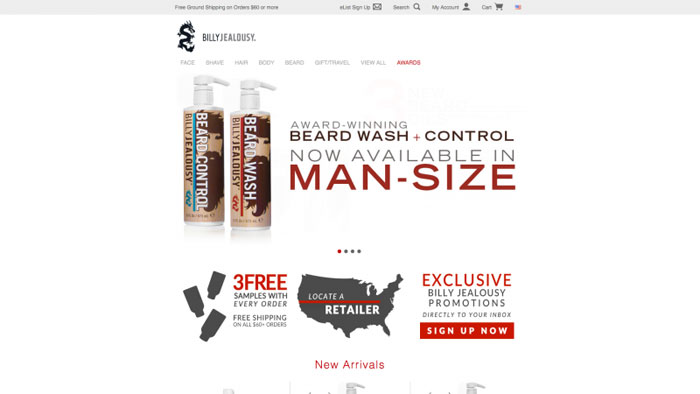 Billy The best beauty websites you can find online (29 Examples)