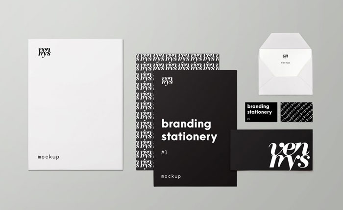 Branding-stationery Get the best packaging mockup for your product: Free and premium options