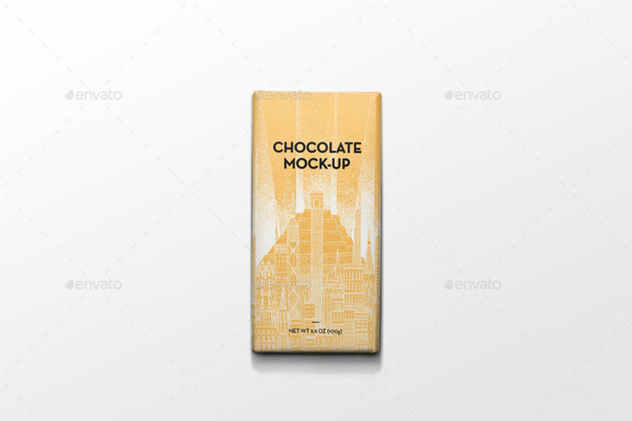Chocolate-mockup Get the best packaging mockup for your product: Free and premium options
