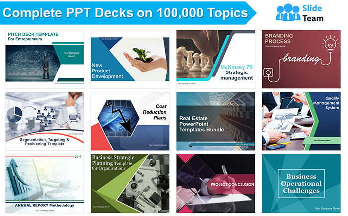 Complete-Decks-Snapshot-700x435 SlideTeam.net Review: World's Largest PowerPoint Templates Provider & A Premier Research and Design Agency
