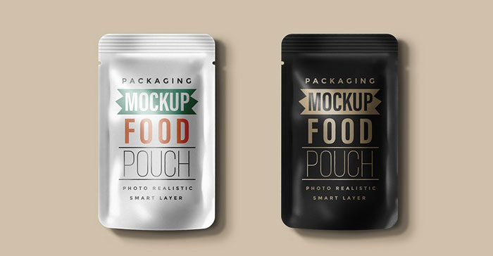 Food-Pouch Get the best packaging mockup for your product: Free and premium options
