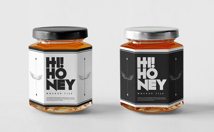 Honey-jar Get the best packaging mockup for your product: Free and premium options