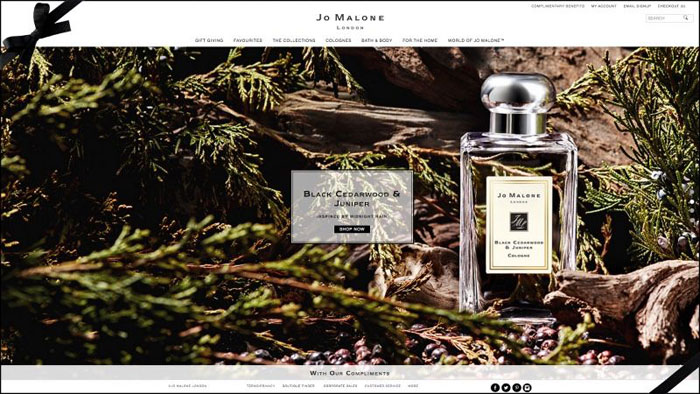 Jo-Malone The best beauty websites you can find online (29 Examples)