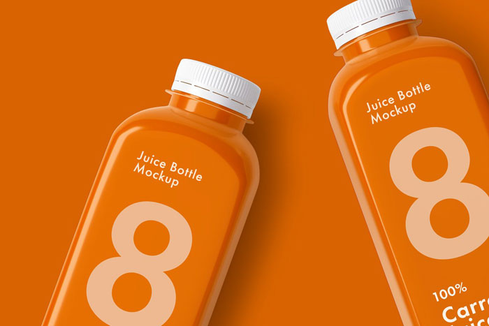 Juice-bottle-mockup Get the best packaging mockup for your product: Free and premium options