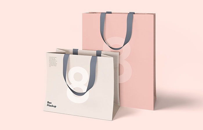 Luxury-bag Get the best packaging mockup for your product: Free and premium options