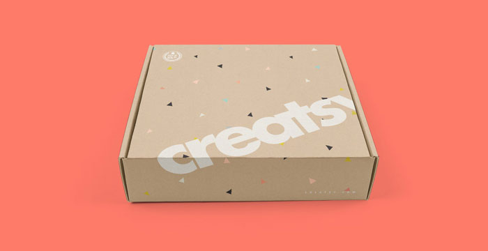 Mailbox-package Get the best packaging mockup for your product: Free and premium options