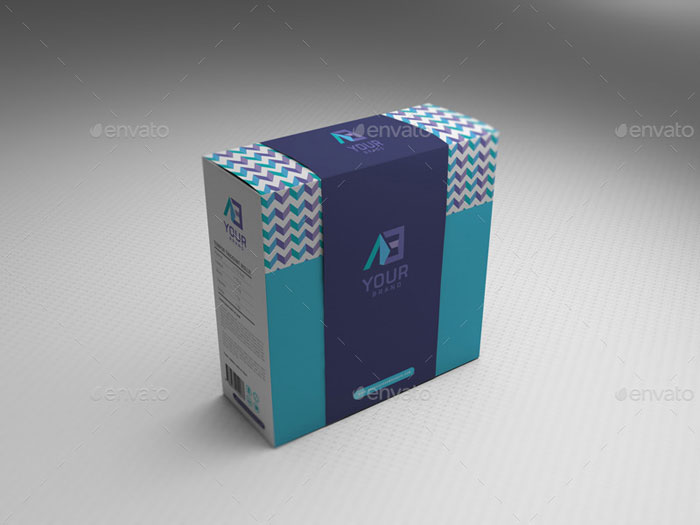 PackageBox-vol1 Get the best packaging mockup for your product: Free and premium options