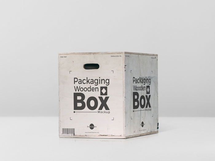 Packaging-wooden-box Get the best packaging mockup for your product: Free and premium options