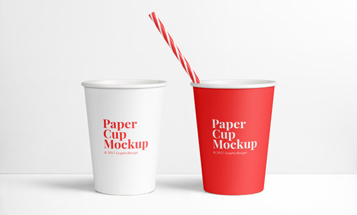 Paper-cup Get the best packaging mockup for your product: Free and premium options
