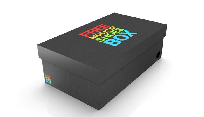 Shoe-box Get the best packaging mockup for your product: Free and premium options