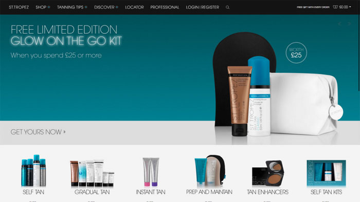 St-Tropez The best beauty websites you can find online (29 Examples)