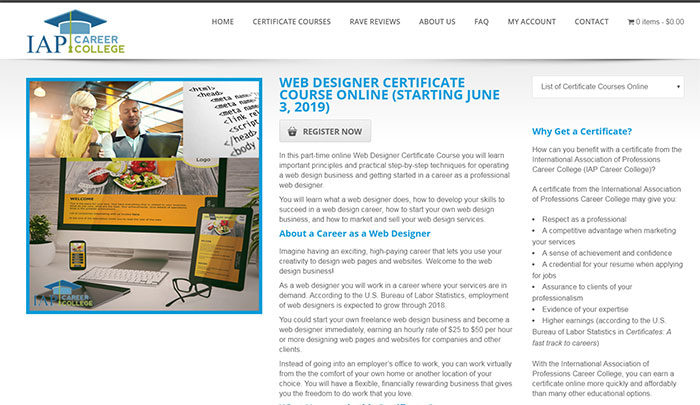 iap-700x405 How to get an online web design certificate