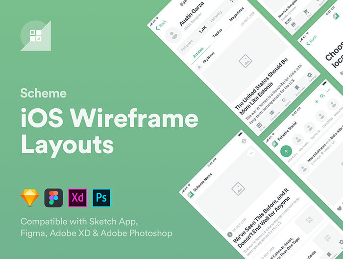 Get the best Sketch wireframe kit resources (Free and Premium)