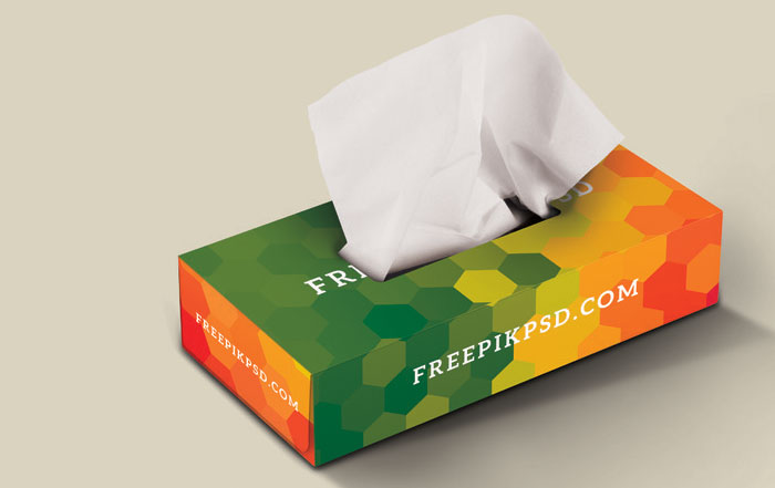 tissue-box Get the best packaging mockup for your product: Free and premium options