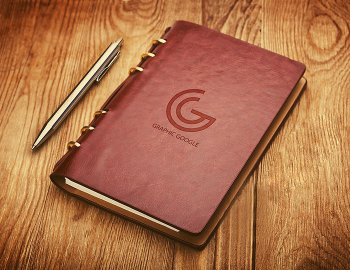 Notebook-Emboss-Logo-Mockup-700x540 Grab these notebook mockup templates for free (plus Premium ones)