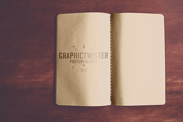 Old-notepad-Mockup-gt-700x467 Grab these notebook mockup templates for free (plus Premium ones)