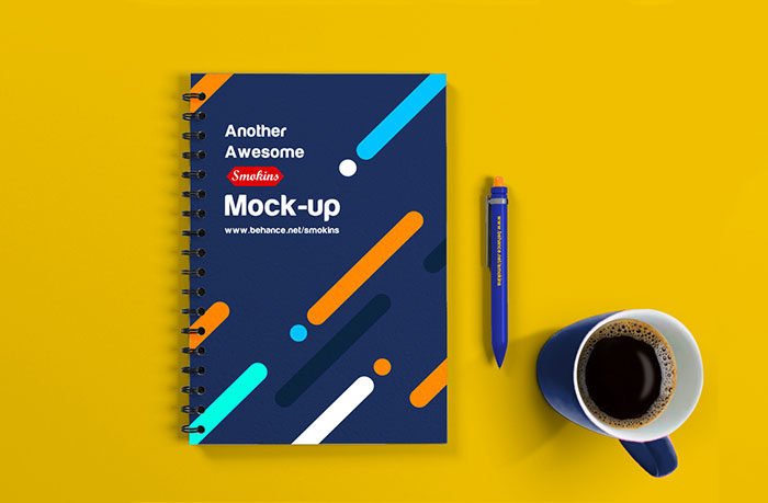 free-spiral-notebook-mockup-1-700x459 Grab these notebook mockup templates for free (plus Premium ones)