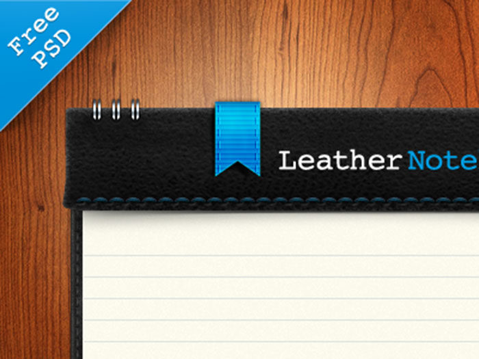 leather-700x525 Grab these notebook mockup templates for free (plus Premium ones)
