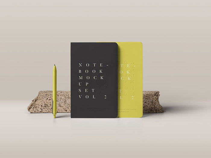 standing-700x525 Grab these notebook mockup templates for free (plus Premium ones)