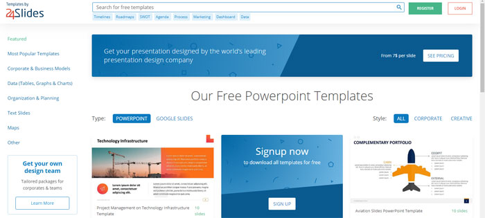 24templates The best Animated PowerPoint templates: Free and premium options