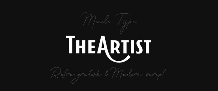 Artist Awesome movie fonts to create posters and movie titles