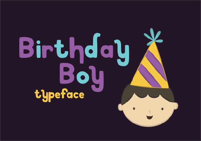 Birthday-Boy-Font-Charismatic-Letters-700x489 Fun happy birthday fonts you can download with a click