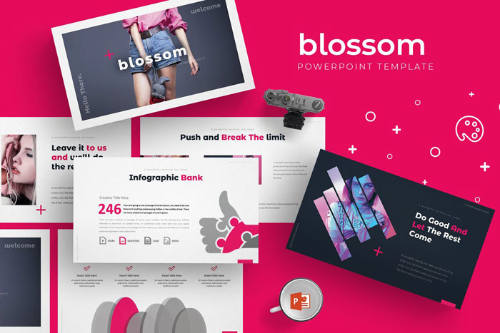 Blossom The best Animated PowerPoint templates: Free and premium options