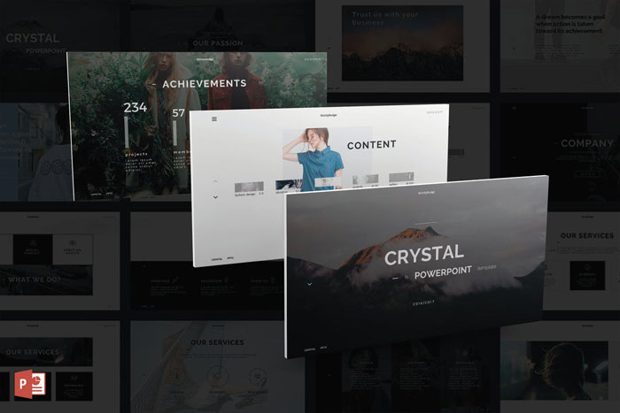 Crystal The best Animated PowerPoint templates: Free and premium options