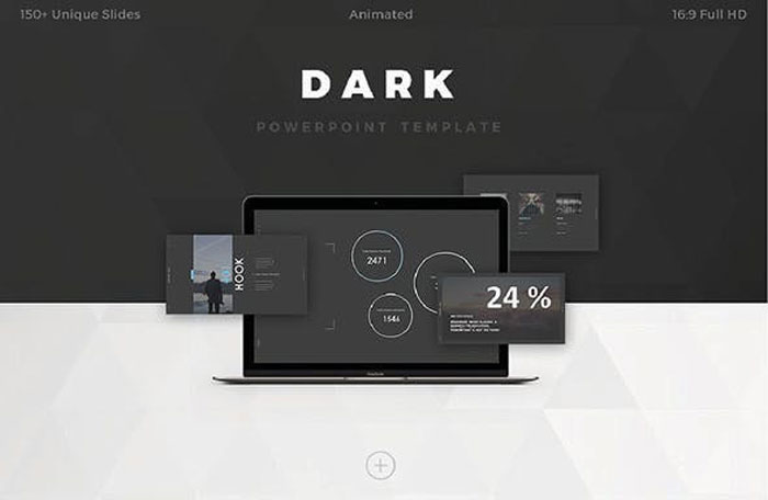Dark The best Animated PowerPoint templates: Free and premium options
