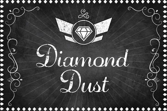 Diamond-dust Awesome movie fonts to create posters and movie titles