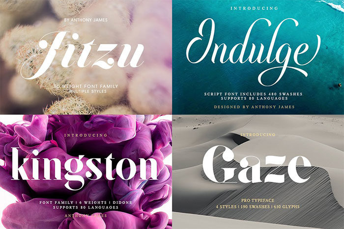 Font-Bundle-For-all-tastes-700x467 Fun happy birthday fonts you can download with a click