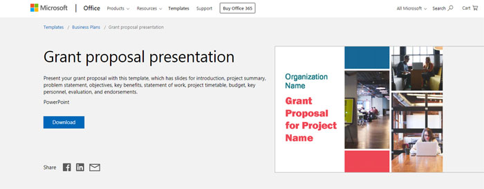 Grant-proposal The best Animated PowerPoint templates: Free and premium options