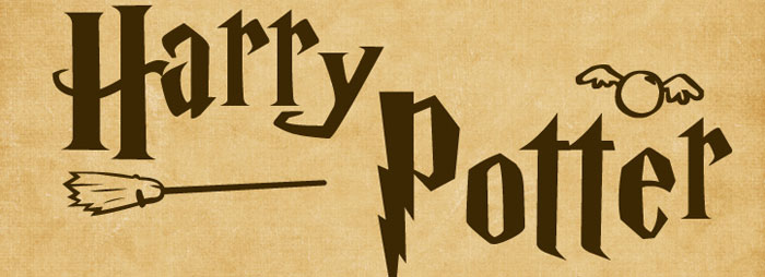 Harry-Potter Awesome movie fonts to create posters and movie titles