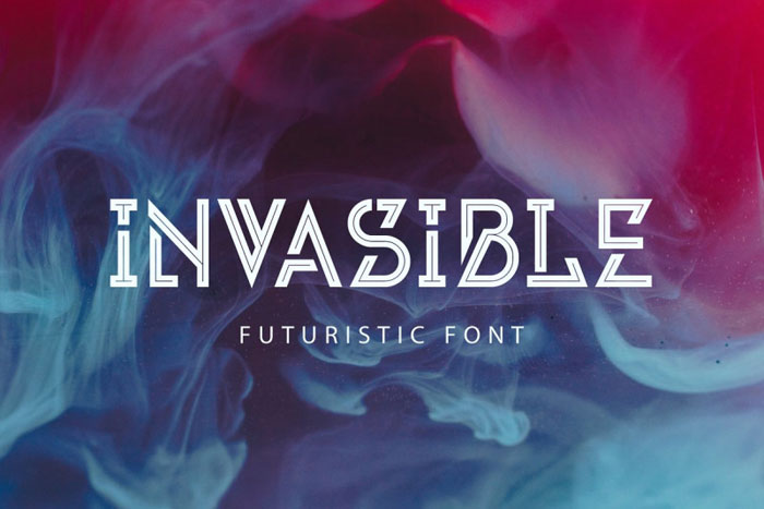 Invasible Awesome movie fonts to create posters and movie titles