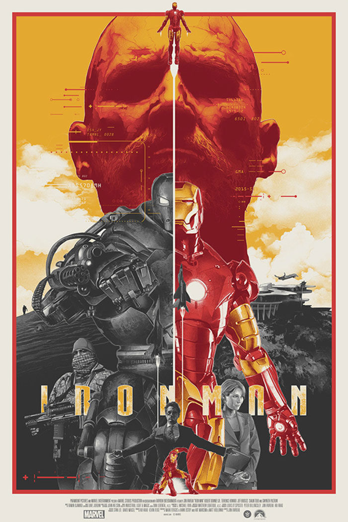 Iron-man-700x1050 The best movie posters: Hand picked designs you should check out