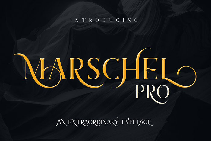 Marschel Awesome movie fonts to create posters and movie titles