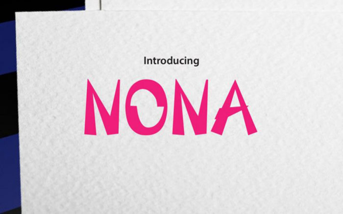 Nona Awesome movie fonts to create posters and movie titles