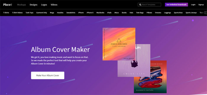 Placeit The best album cover maker tools you can use online