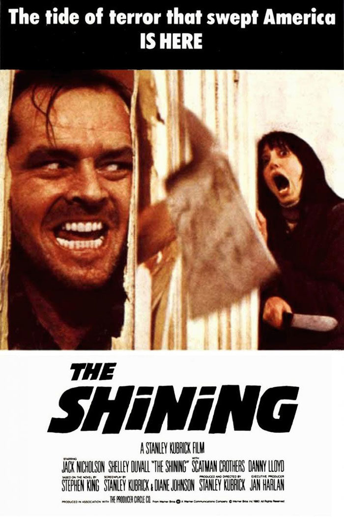 THE-SHINING-700x1051 The best movie posters: Hand picked designs you should check out