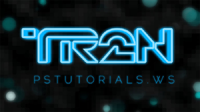 TROn-3D Photoshop 3D text tutorials you should check out