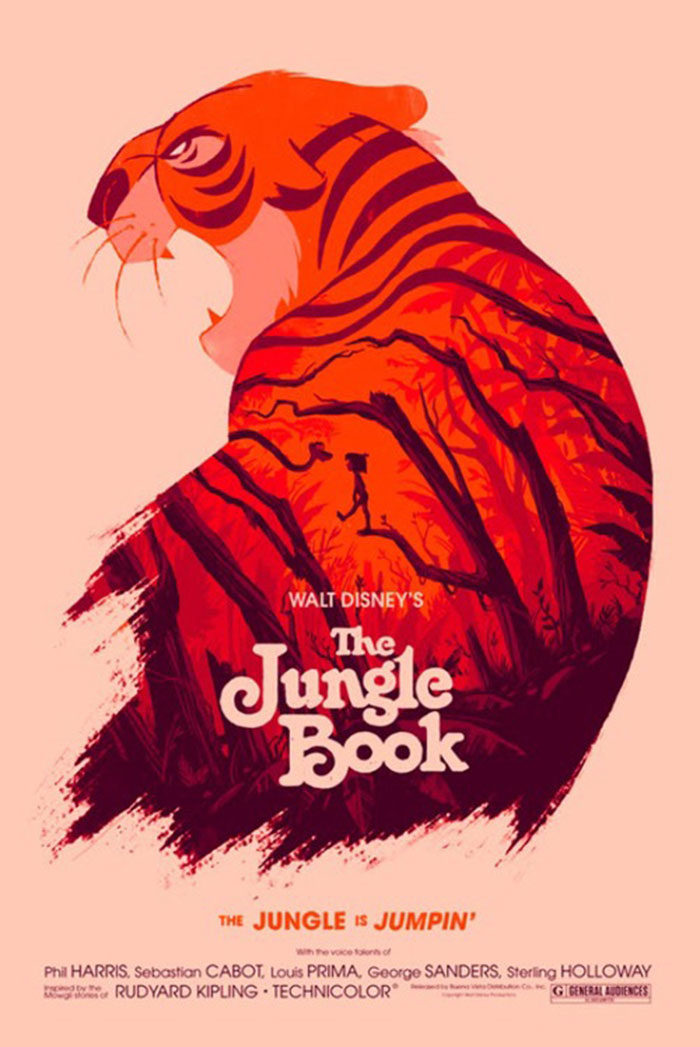 The-Jungle-Book-700x1047 The best movie posters: Hand picked designs you should check out