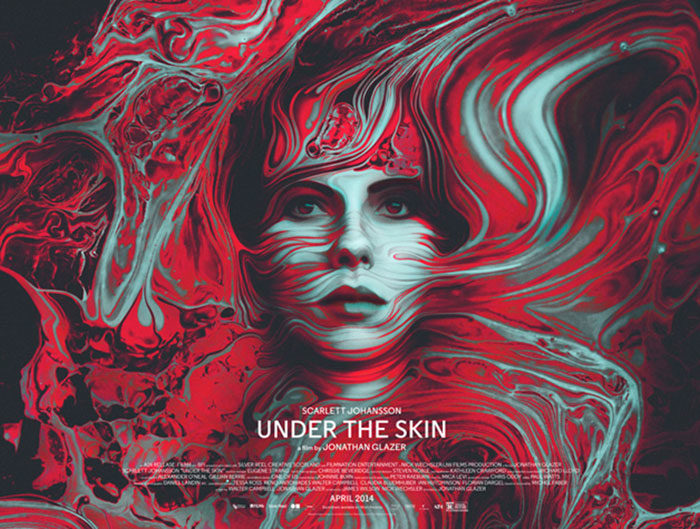 Under-The-Skin-700x529 The best movie posters: Hand picked designs you should check out
