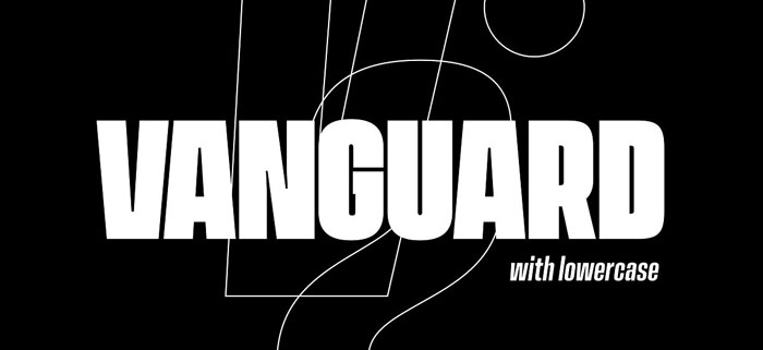 Vanguard Awesome movie fonts to create posters and movie titles