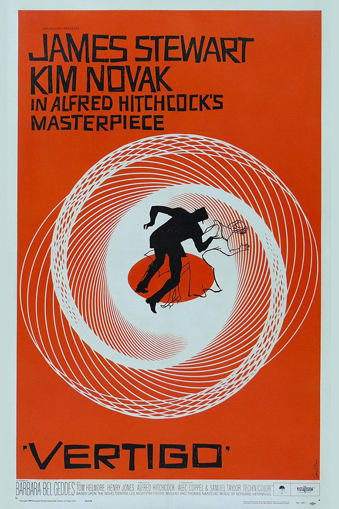 Vertigo-700x1050 The best movie posters: Hand picked designs you should check out