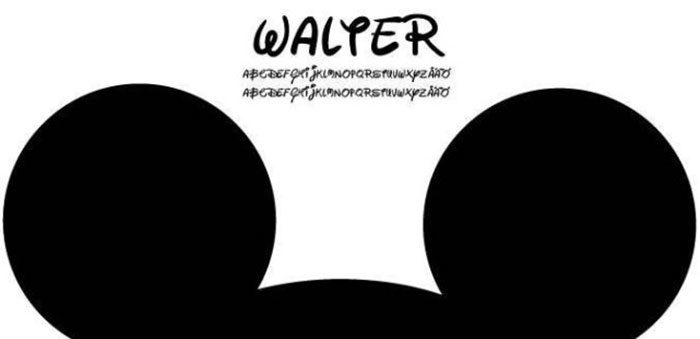 Walter-700x339 Free Disney fonts: Enter the Mickey Mouse club with these quirky fonts
