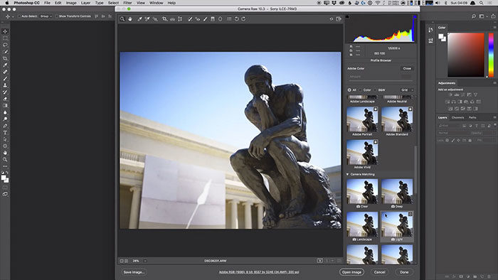 adobe-camera-raw-700x394 Photoshop vs Lightroom: Which to use for your photos