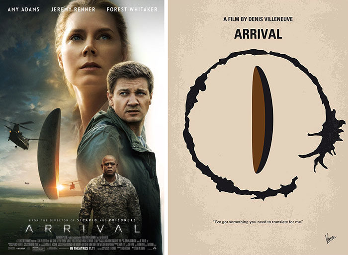 arrival-700x513 The best movie posters: Hand picked designs you should check out