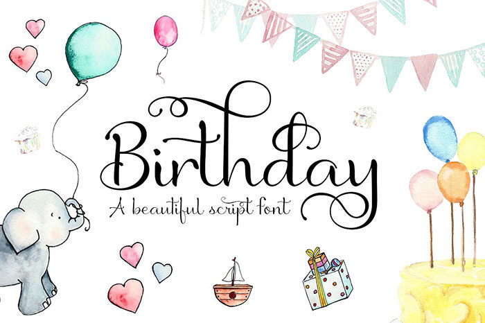 birthday-script-700x466 Fun happy birthday fonts you can download with a click