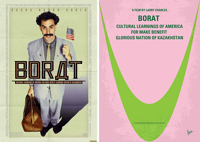 borat-700x499 The best movie posters: Hand picked designs you should check out